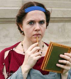 Tamar Bat Avraham Roman Hairstyles, Roman Dress, Roman Clothes, Heroic Age, Period Costumes, Ancient Rome, Fashion History, Photoshoot, Greek