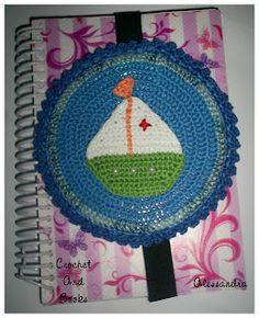 Crochet and Books: Barquinho Verde