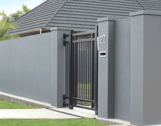 InStyle Gates Aluminium Bar Pedestrian Entrance Gate