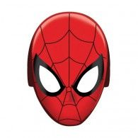 Our Spider-Man Mask will turn your little ones into Spiderman. Each package of Spider-Man Mask include eight 10 high x wide paper mask Spider Man Party, Fête Spider Man, Ultimate Spider Man, Cake Spiderman, Spiderman Party Supplies, Superhero Party, Masque Halloween, Cardboard Mask, Carnival