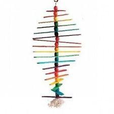 Caitec Bird Toy M00202 Paradise Popsicle Sticks Small 12 in x 4.5 in