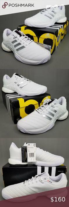 adidas Junior Barricade Club XJ Tennis Shoes Black Sports Breathable Lightweight
