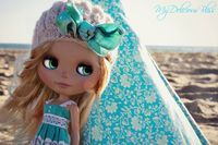 Roxy,  OOAK Custom Roxy Baby Blythe Art Doll