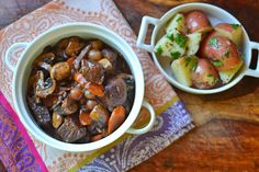 Julia Child's Boeuf Bourguignion #CookForJulia #JC100