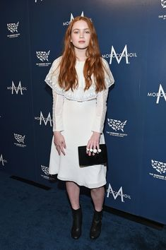 Actress Sadie Sink attends the 2017 Humane Society of the United States to the Rescue! New York Gala at Cipriani 42nd Street on November 10, 2017 in New York City.