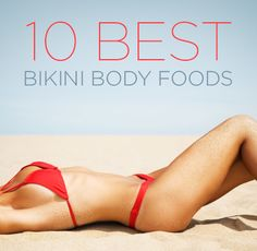 the only things i actually like in here are almonds, cucumbers, and apples..... i'm just gonna stick with chipotle and call it a day.  Wellness Wednesday: 10 Best Bikini Body Foods