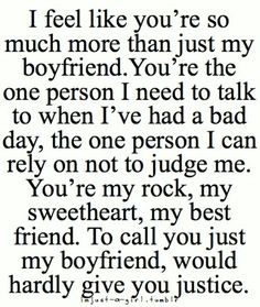 Cute Boyfriend Quotes for Him 49 Cute and Funny Boyfriend Quotes and Sayings for him with images. Win every boy with these beautiful boyfriend quotes and images for the one you love.These These may refer to: Now Quotes, Couple Quotes, Quotes To Live By, Life Quotes, Baby Quotes, Humor Quotes, Crush Quotes, Movie Quotes, The Words