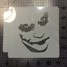 The Joker Stencil 100