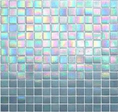 Aqua Shimmer Tile