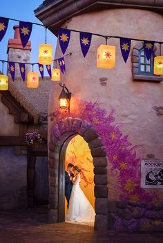 And at last I see the light. And it's like the fog has lifted. Photo: Amy, Disney Fine Art Photography