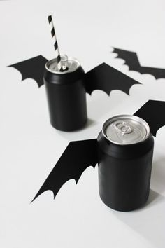 Bat Halloween Drink idea!