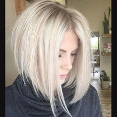 45 Edgy Bob Haircuts To Inspire Your Next Cut. Edgy bob haircuts are best for those of you who are dreaming of some change in your lives but have no clue Edgy Bob Haircuts, Inverted Bob Hairstyles, Haircuts For Fine Hair, Wig Hairstyles, Hairstyle Ideas, Longer Bob Hairstyles, Wedding Hairstyles, Hairstyles 2016, Latest Hairstyles