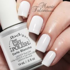 Carte Blanche is more of a winter white - a pure cream with a very slight greyish undertone.