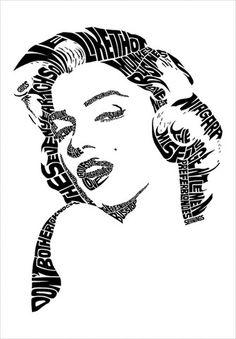 Marilyn Monroe by Seanings