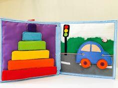 Este libro contiene un montón de actividades divertidas para su bebé. Usted puede enseñar a su bebé: -atar un cordón -zip y descomprimir -Conecte y desconecte el  Este libro le ayudará a mejorar las habilidades motoras finas de tu bebé. Un libro está listo para ser enviado.