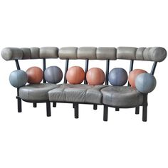 Sofa by Peter Opsvik, Norway | From a unique collection of antique and modern sofas at https://www.1stdibs.com/furniture/seating/sofas/