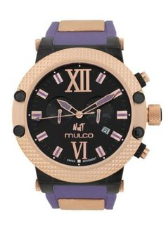 Mulco Nuit Link Chronograph Unisex Watch ** Read more reviews of the product by visiting the link on the image.