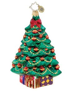 Image detail for -Christopher Radko Christopher Radko Petite Pine Ornament