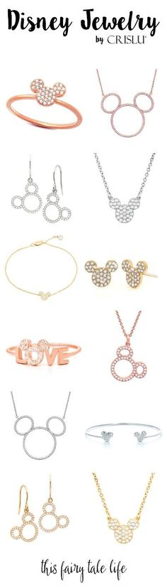Rose Gold, Mickey, and Sparkles – New Chic Disney Jewelry from Crislu