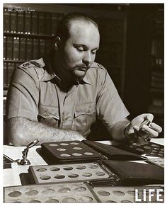 H.M. King Farouk Reviewing His Rare Coin Collections - (D124) by Tulipe Noire, via Flickr