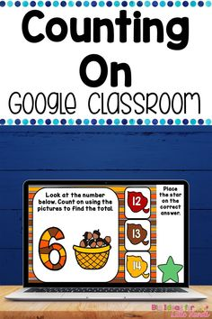 This Google Classroom activity teaches students early addition strategies by have kids count on from a given number. This digital activity helps students learn counting & number recognition. Embrace technology in your math small groups & centers or stations. This fun, paperless, no prep Google Slides game is great for Distance Learning with Preschool, Kindergarten, 1st, & 2nd Grade Elementary kids. No worksheet needed! Each card will have a fun Fall theme is filled with apples, leaves & more. Math Classroom, Google Classroom, Classroom Activities, Addition Strategies, Addition Games, Math Rotations, Math Manipulatives, Learning Resources, Student Learning