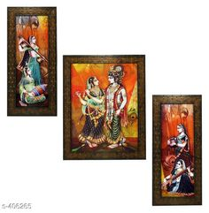Checkout this latest Paintings & Posters Product Name: *Stylish Wall Paintings (Set Of 3)* Product Length: 12.5 Inch Product Breadth: 5 Inch Multipack: 3 Country of Origin: India Easy Returns Available In Case Of Any Issue   Catalog Rating: ★4.2 (838)  Catalog Name: Spiritual Wall Paintings Vol 10 CatalogID_43854 C127-SC1611 Code: 172-406265-666
