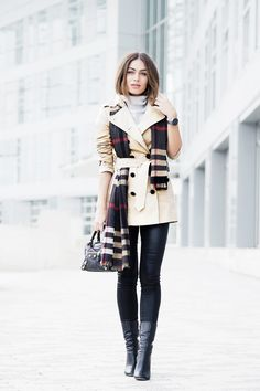 Lydia Lise Millen is a picture in Burberry chic,... - Street Style