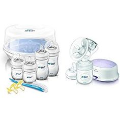 Philips Avent Natural Essentials Set with Single Electric Breast Pump