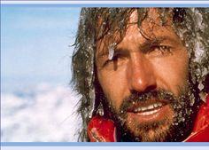 HANS KAMMERLANDER - Ahornach im Ahrntal - Südtirol - Einer der größten Bergsteiger - für uns der Beste ...  Neben zahlreichen Erst- und Solobegehungen in den Alpen hat er  auch zwölf der 14 Achttausender bestiegen. Im Team mit Reinhold Messner gelang ihnen dabei die erste Doppelüberschreitung der Achttausender Gasherbrum II direkt gefolgt vom Hidden Peak. Zuletzt bestieg er alle SEVEN SECOND SUMMITS.