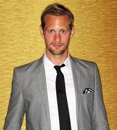 Alter Schwede: Schauspieler Alexander Skarsgård überragt viele seiner Hollywood-Kollegen mit seinen 1,94 Metern