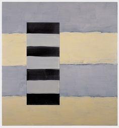 Sean Scully, Passenger Light Dark 1998, Oil on linen, 60 x 56 in