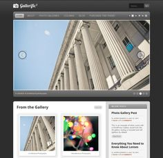 Gallerific - Photography WordPress Theme | Xtratheme