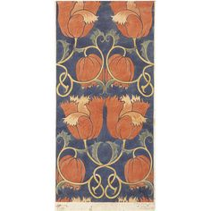 Textile design  Place of origin: London, England (made)  Date: ca. 1888 (made)  Artist/Maker: C. F. A. Voysey, born 1857 - died 1941 (designer)  G.P. & J. Baker (manufactured by)  Materials and Techniques: Watercolour  Credit Line: Given by G. P. & J. Baker Ltd.