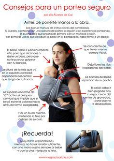 Consejos para un porteo seguro, por Iria Álvarez de Cal