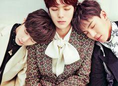 Hyungwon, Minhyuk and Shownu   MONSTA X