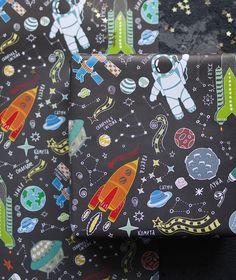Упаковочная бумага > Бумага Space Oditty купить в интернет-магазине.
