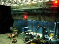 sci fi hangar diorama - Google Search