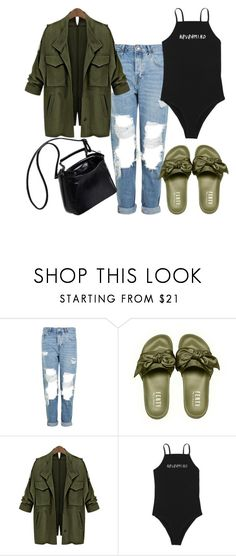 """""""Untitled #119"""" by thayx ❤ liked on Polyvore featuring Topshop"""