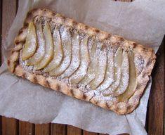 Pear 'Almond' (Tigernut) Tart (paleo, AIP, vegan) from Flash Fiction Kitchen