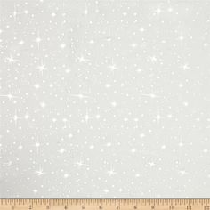 Ice Organza Silver Star White from @fabricdotcom  This organza fabric is sheer and very lightweight with metallic stars throughout. This glitzy fabric is perfect for creating princess costumes, overlays, party decor and special occasion apparel.