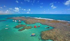 10 lugares para uma escapada de fim de semana saindo de Recife