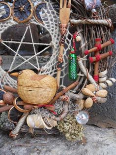 "Lets Get Crafty.....A Witchy Hippy ""Kitchen Witches"" Wreath - Wicca Online Community For Pagans and Wiccans"