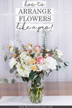 , If you love beautiful fresh flowers in your home, but you struggle with arranging them, read this post on how to arrange flowers like a pro! , How to Arrange Flowers Like a Pro - Part 1 Cut Flowers, Fresh Flowers, Beautiful Flowers, Purple Flowers, Flowers Garden, Exotic Flowers, Yellow Roses, Pink Roses, Wild Flowers