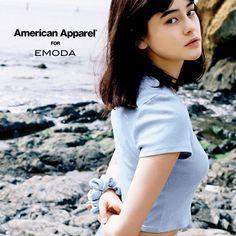 アメリカンアパレル×エモダ、限定コラボコレクション発売 - イメージモデルはemmaの写真4
