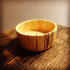 Silver Birch Wood Turning, Birch, Serving Bowls, Woodworking, Tableware, Silver, Dinnerware, Money, Dishes