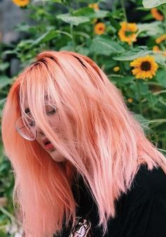 Pretty ideas of pastel peach hair colors that women wear and enjoy with their sexy looks. If you are looking for new hair color ideas then we are here to show you some of the best styles of pastel and peach hair colors combinations. You may use to wear these stunning hair colors in year 2018.