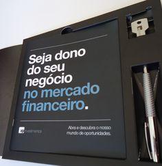 Mala direta XP Investimentos - Flavio Barros | Designer Gráfico