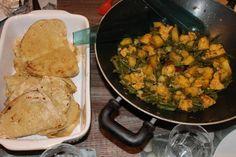 Recept Gevulde roti maken