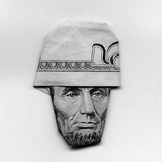 Lincoln #money #origami