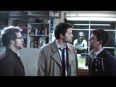 The Ghostfacers meet Castiel - funniest webisode EVER! They were a great comic relief and I'd love for Sam and Dean to run into them one more time.